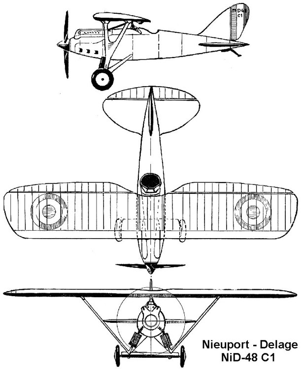 nid48 3v model airplane plan