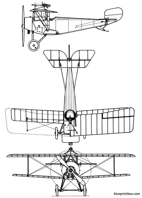 nieuport xibebe 2 model airplane plan