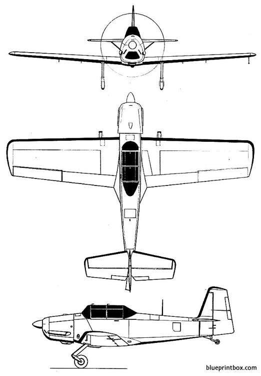 nord aviation nord 3200 model airplane plan