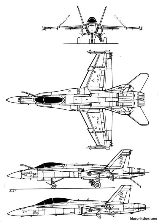 northropf 18 hornet plans - aerofred