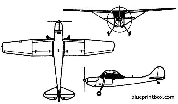 o 1 bird dog model airplane plan