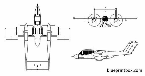ov 10 bronco model airplane plan