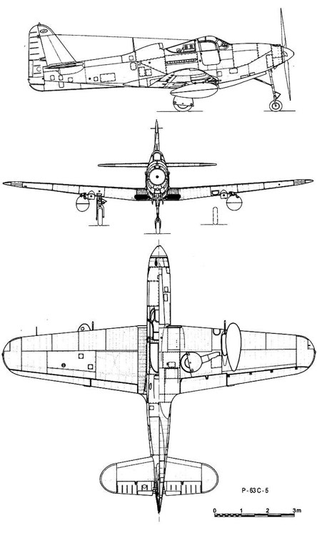 p63c5 3v model airplane plan