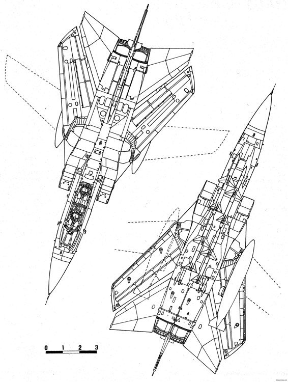 panavia tornado f2 2 model airplane plan