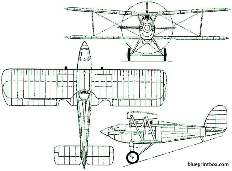 parnall pipit 1928 england model airplane plan