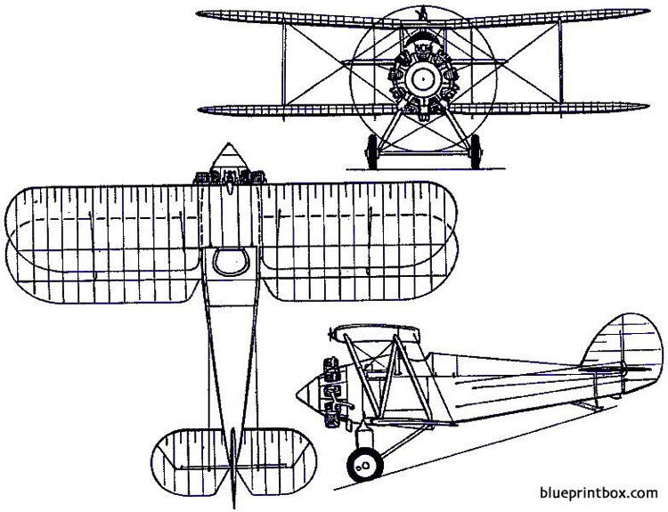 parnall plover 1922 england model airplane plan
