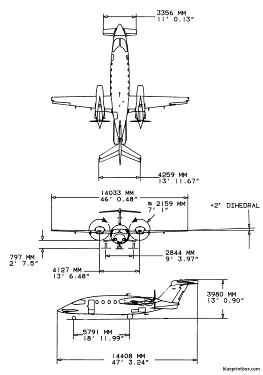 piaggio p180 avanti ii model airplane plan