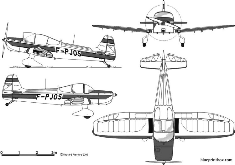 piel cp 301a emeraude model airplane plan