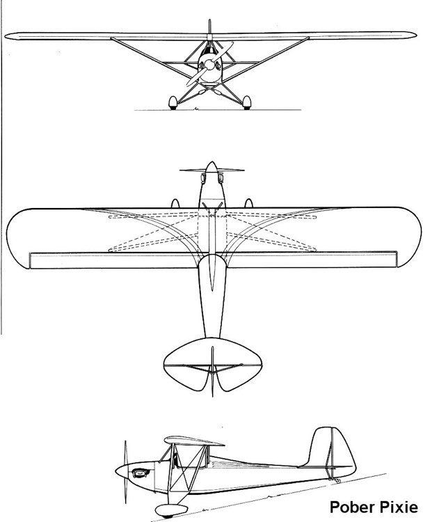 pober 3v model airplane plan