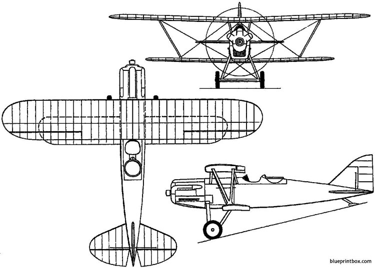 polikarpov 2i n1 di 1 1926 russia model airplane plan