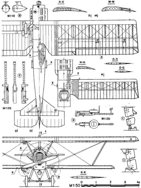 potez25 1 3v model airplane plan