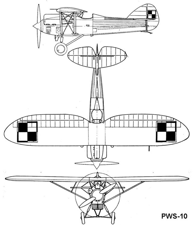 pws10 3v model airplane plan