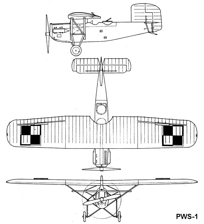 pws1 3v model airplane plan