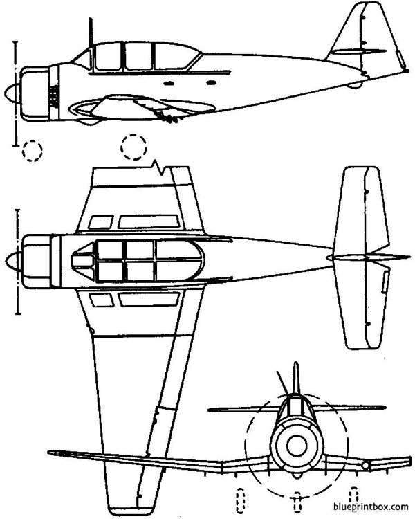pzl ts 8 bies 1955 poland model airplane plan