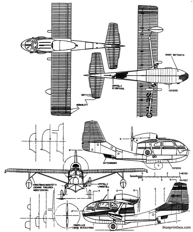 republic seabee model airplane plan