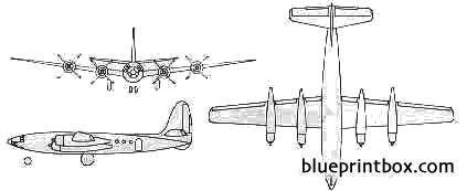 republic xf 12  xr 12 rainbow model airplane plan