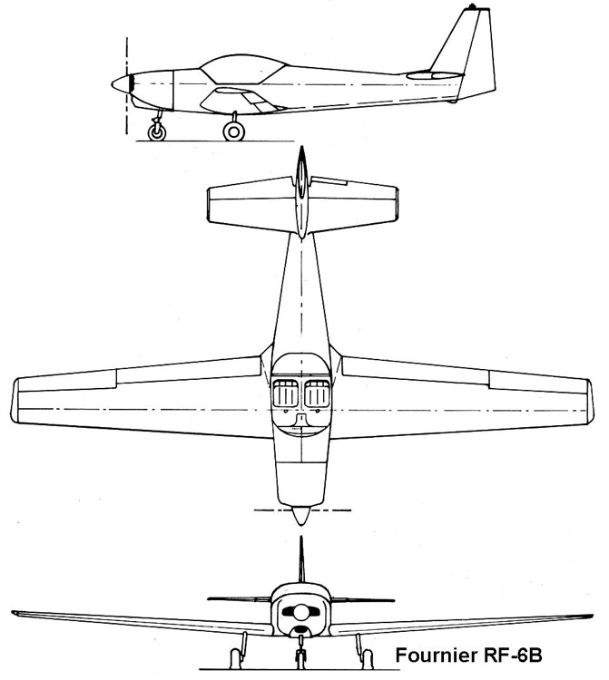 rf6b 3v model airplane plan