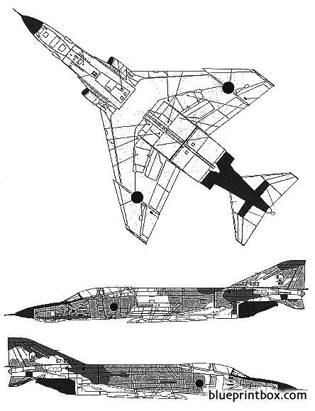 rf 4c e phantom model airplane plan