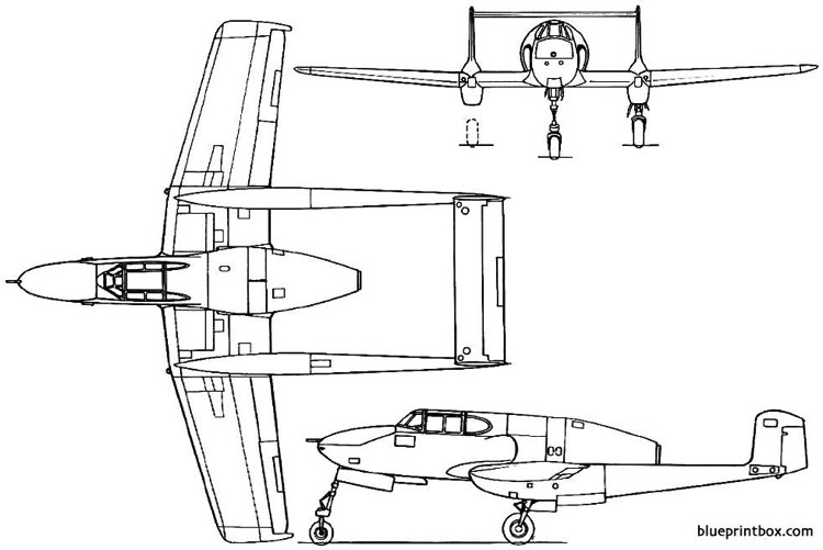 saab 21r 1947 sweden model airplane plan