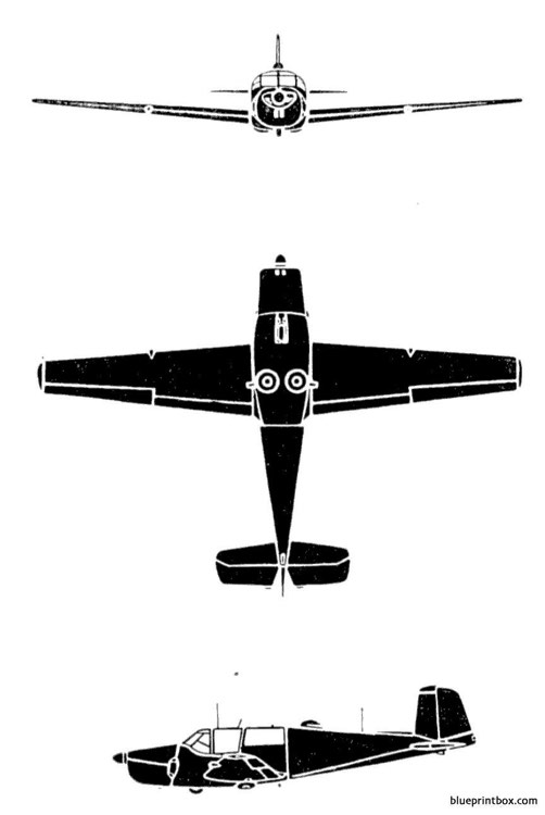 safir 91 d model airplane plan