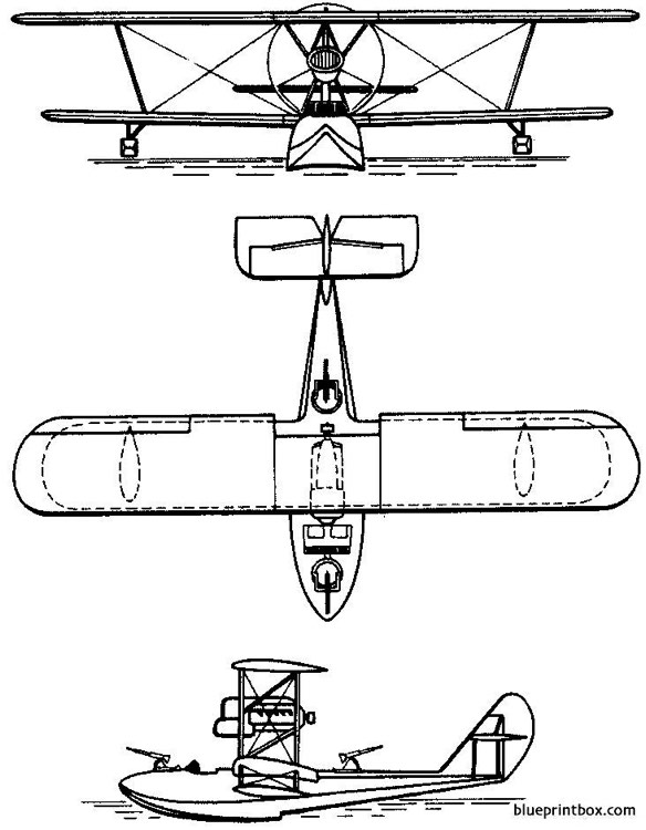 savoia marchetti s62 1926 italy model airplane plan
