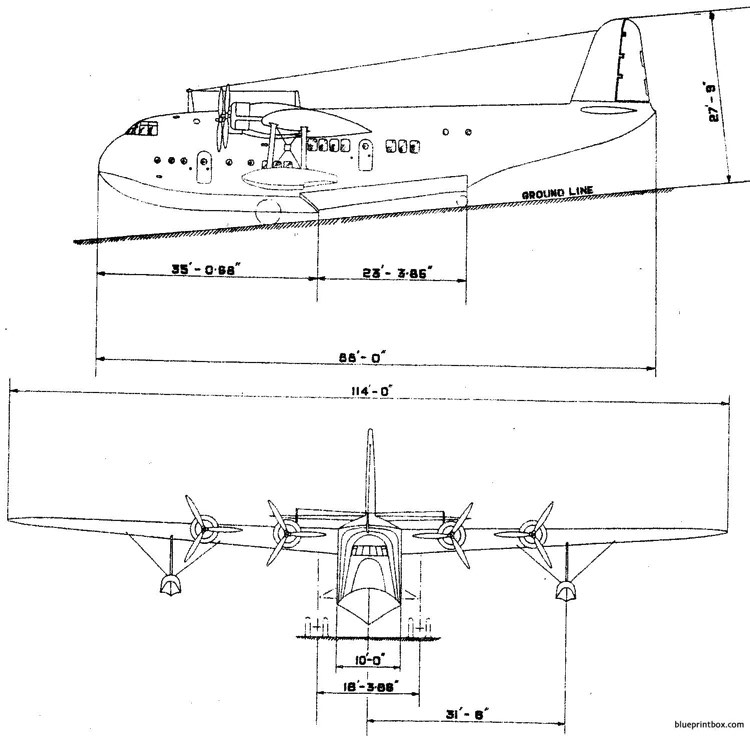 short empire 01 model airplane plan
