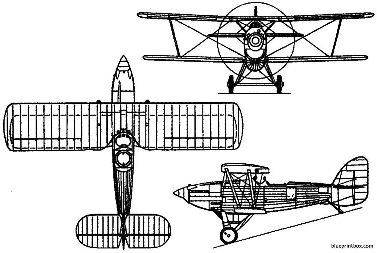 short s10 gurnard 1929 england model airplane plan