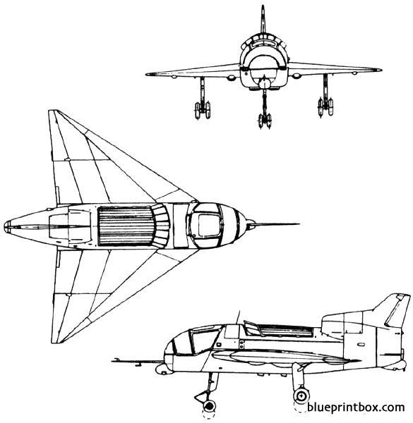 short sc1 1957 england model airplane plan