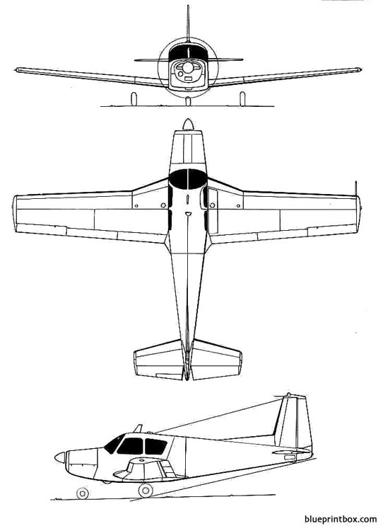 siai marchettis 205 model airplane plan