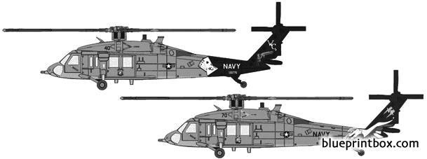 sikorsky mh 60s model airplane plan