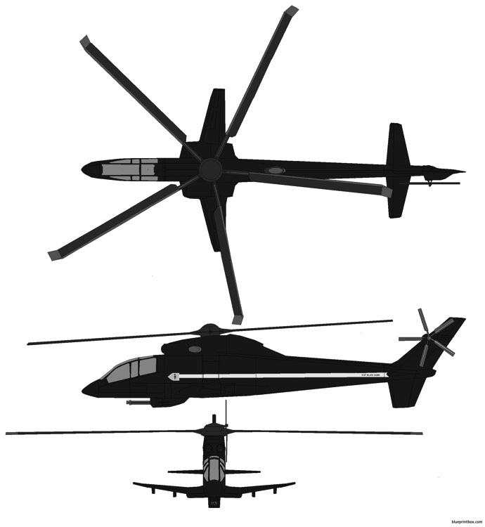 sikorsky s 67 blackhawk model airplane plan
