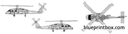 sikorsky s 70 sh 60 sea hawk model airplane plan