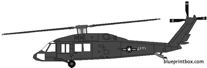 sikorsky sh 60 blackhawk model airplane plan