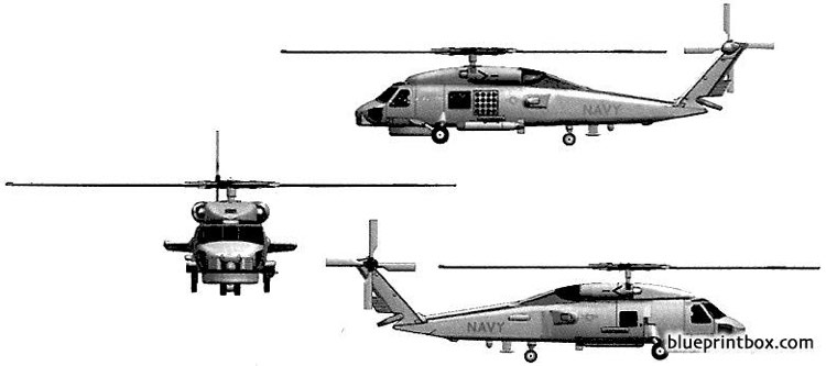 sikorsky sh 60b model airplane plan