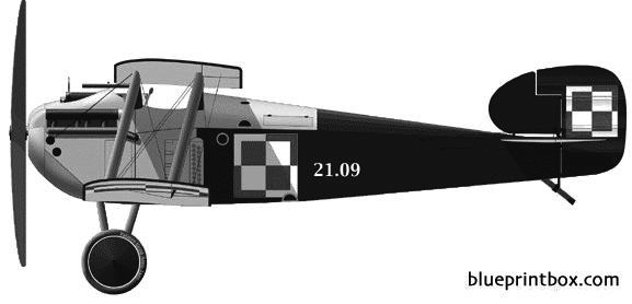 sopwith 5f1 dolphin model airplane plan