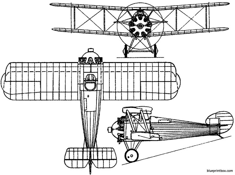sopwith dragon 1919 england model airplane plan