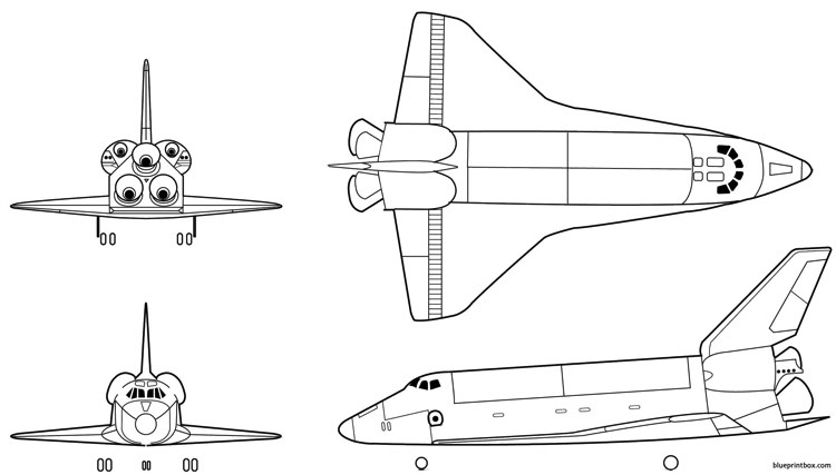 space shuttle 4 Plans - AeroFred - Download Free Model ...