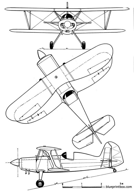 stolp acroduster model airplane plan