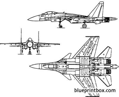 su37 sh model airplane plan