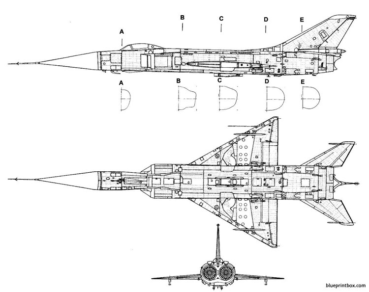 sukhoi su 15 flagon 2 model airplane plan