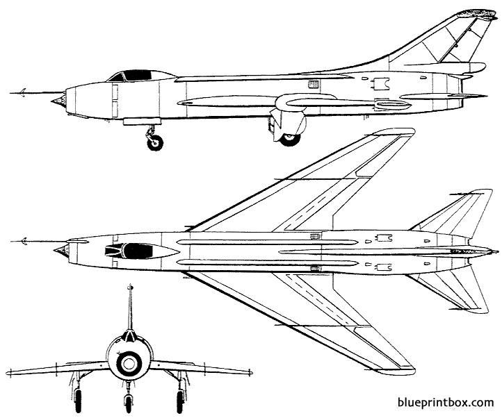 sukhoi su 7b fitter model airplane plan