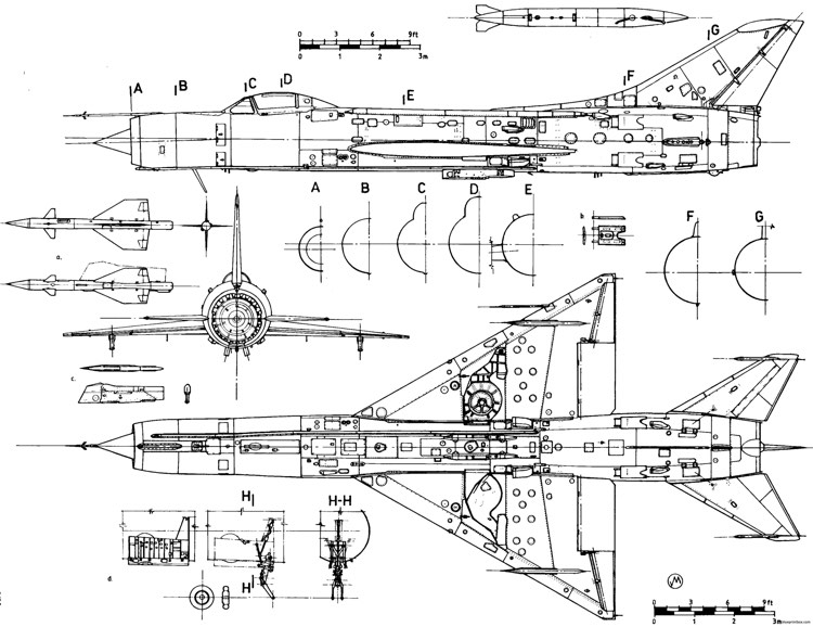 sukhojj su 11 2 model airplane plan