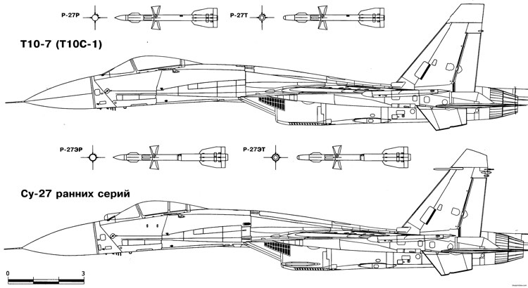 sukhojj su 27 11 model airplane plan