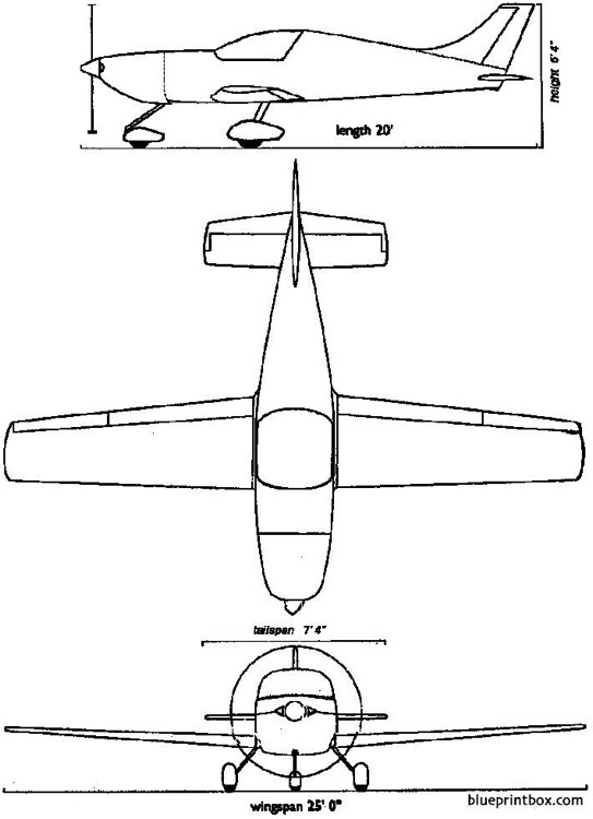 super pulsar 100 model airplane plan