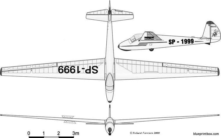 szd 12 mucha 100 model airplane plan