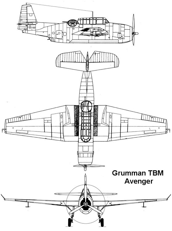 tbm 1 3v model airplane plan