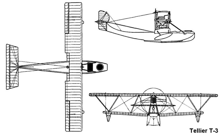 telliert3 3v model airplane plan