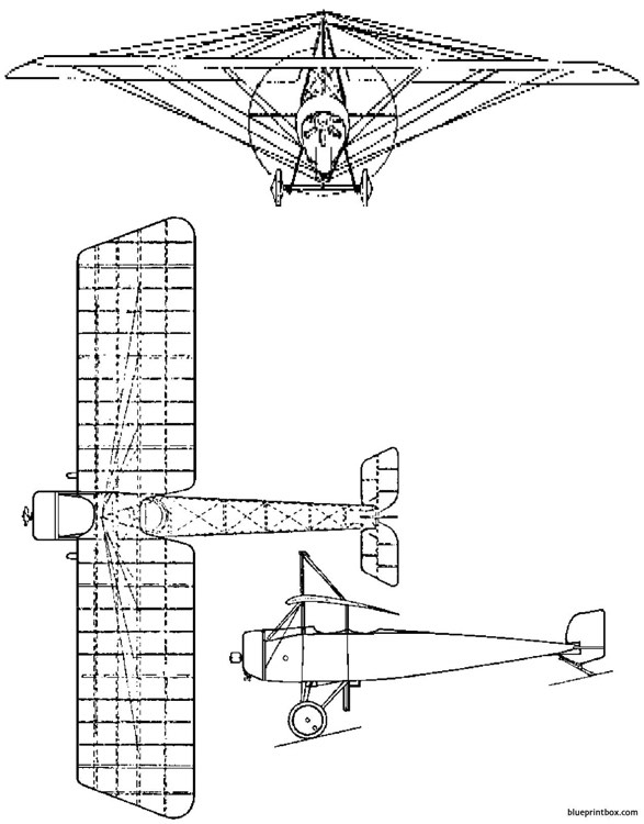 thulin type d model airplane plan