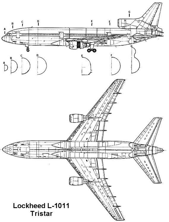 tristar 2 3v model airplane plan