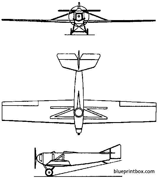 tupolev ant 1 1923 russia model airplane plan